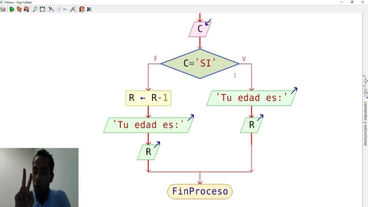 Pseint diagrama de flujo y pseudocdigo que determina tu edad pseint diagrama de flujo y pseudocdigo que determina tu edad youtube ccuart Image collections