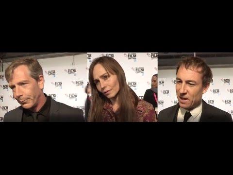 Una - Ben Mendelsohn, Tara Fitzgerald, Tobias Menzies, Benedict Andrews - BFI LFF Interviews