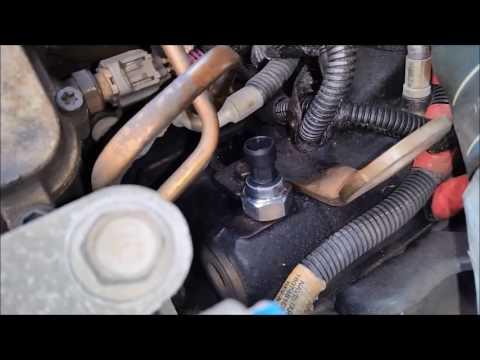 1994 to 2002 Ford F250 F350 7.3L ICP 1807329C92 Sensor Change
