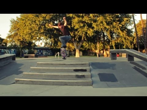 Ambassador Skate Plaza in Wilmington, CA (HD)