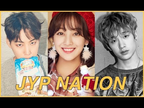 [TOP 60] JYP NATION SONGS OF 2017 (DAY6, STRAY KIDS, TWICE, GOT7, 2PM, etc.)