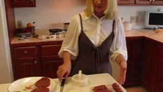 Betty's Cheese And Onion Stuffed Hamburgers