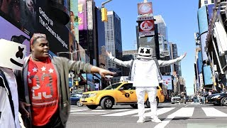 I Dressed Up as MARSHMELLO In NYC (PEOPLE THOUGHT I WAS HIM!!)