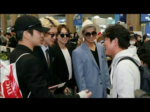 171018 Winner at Incheon Airport after finishing filming Youth Over Flowers