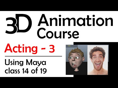 Maya Acting 3: Facial Animation