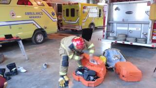 Firefighter full dress 45 secs