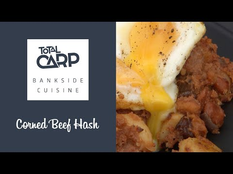 Total Carp Bivvy Cuisine with Simon Bishop - Corned Beef Hash