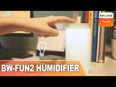 Blitzwolf® BW-FUN2 USB Humidifier With LED Light|Buy at Banggood
