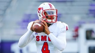 SMU QB Matt Davis 2015 Highlights