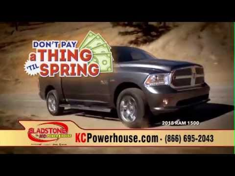 Exceptional Dont Pay A Thing U0027Til Spring Sales Event At Gladstone Dodge Chrysler Jeep  RAM!
