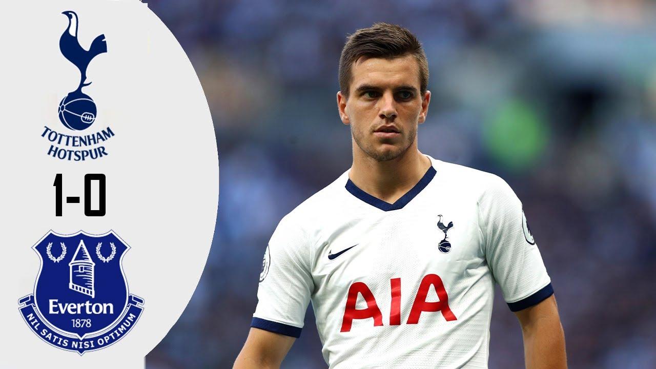 Tottenham - Everton 1-0 - All Goals & Extended Highlights 2020 - YouTube