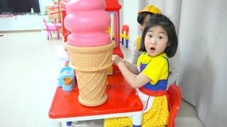 MAIS DE 100 GELADOS !!! ★ Boram vai para o caminhão de sorvete de nossa geração