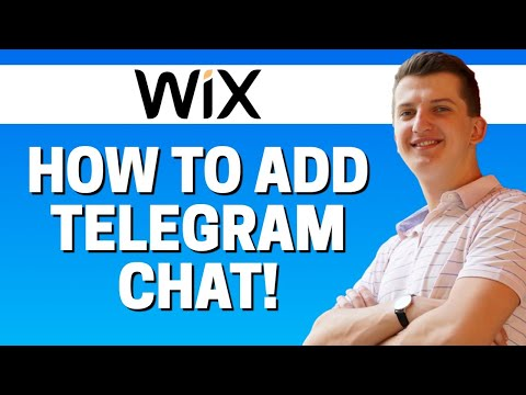 How To Add Telegram Chat In Wix