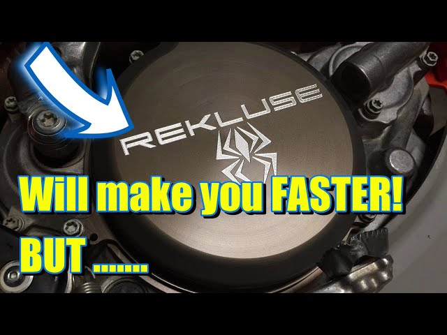 😏 5 things you need to know about Rekluse Auto Clutch Before you BUY - Does it make you faster? YES!