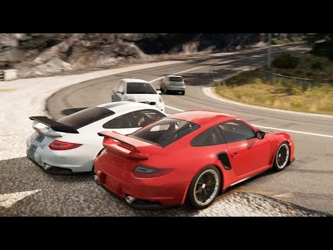 forza horizon 2 porsche 911 gt2 drifting the mountains youtube. Black Bedroom Furniture Sets. Home Design Ideas