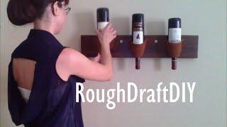 How To Make A Wine Rack -- By Roughdraft Diy