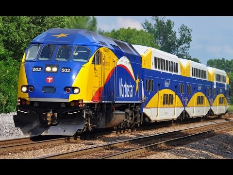 Northstar Commuter Train Minneapolis, Minnesota