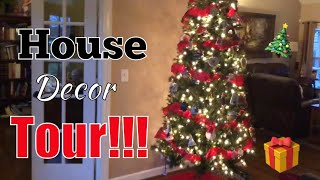 VLOGMAS Day 4: House Decor Tour!!