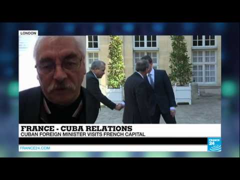 CUBA/FRANCE - Cuban foreign minister visits Paris