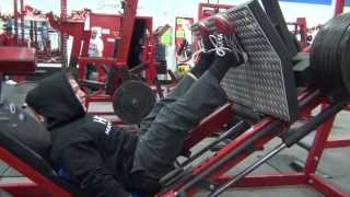 Lower Body Workout at Lifeforce Fitness - Kyle Hunt
