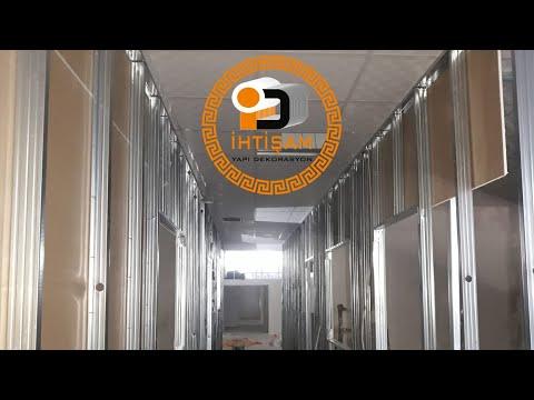 Asma Tavan Modelleri Alçıpan Bölme Duvar Kartonpiyer Alçı ışık Bandı Asmatavan Gergi Tavan Gizli ışı