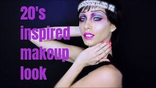 20's INSPIRED MAKEUP LOOK I MAKEUP BY BORIS