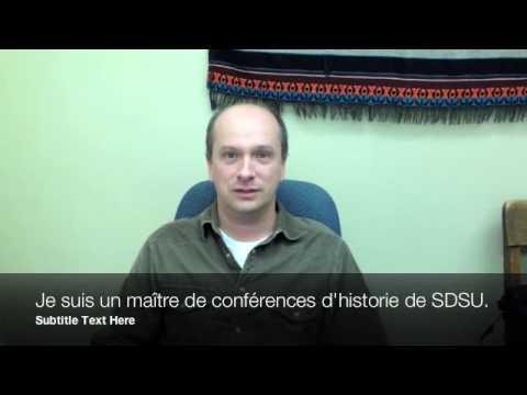 French 211 SDSU Recruitment Film