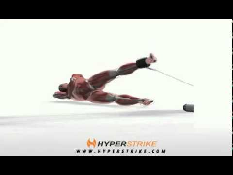 Exercise - Cable Hip Abduction -- Side-Lying -.flv - YouTube