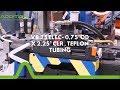 "Addition Manufacturing Technologies- VB 25 ELEC- 0,75""OD x 2,25"" CLR , Teflon Tubing"