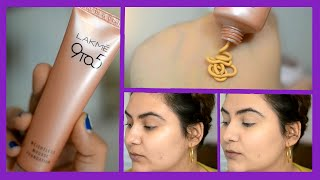 NEW Lakme 9 to 5 Weightless Mousse foundation review {Delhi fashion blogger}