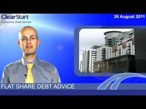 Flat share debt advice