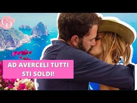 Jennifer Lopez e Ben Affleck a Capri: quanto costa il loro yatch? CIFRA ASSURDA (TG Pettegola #82)