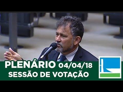 PLENÁRIO - Sessão Deliberativa - 04/04/2018 - 09:31