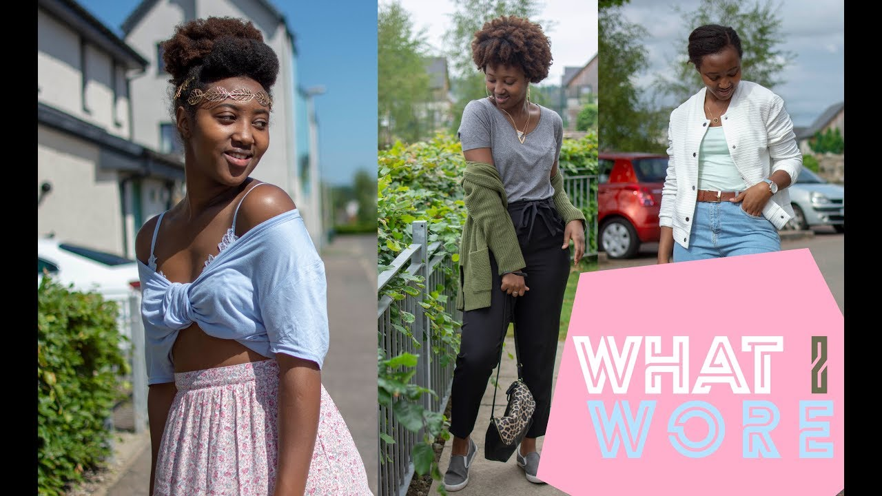 SUMMER OUTFITS || WHAT I WORE THIS WEEK || MBAIRE WANGUI 2
