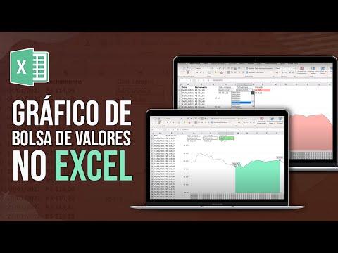 Gráfico de Bolsa de Valores no Excel - Passo a Passo Completo