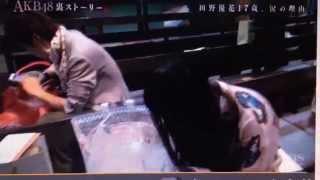 ファンの方のオーダーで、AKB48田野優花さんに、製作したお花が喜んでも...