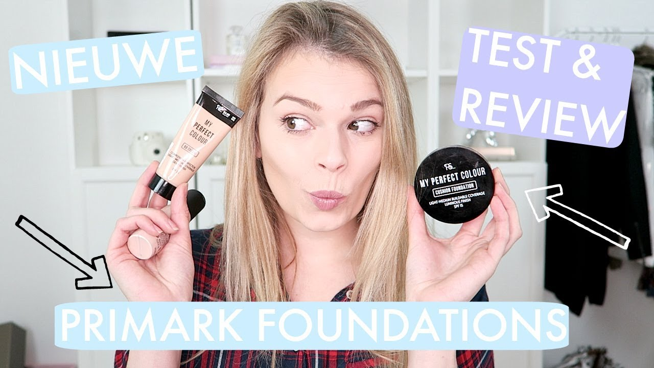 67f416ee75e NIEUWE PRIMARK FOUNDATIONS - TEST & REVIEW! | Lifestyle Spot - YouTube