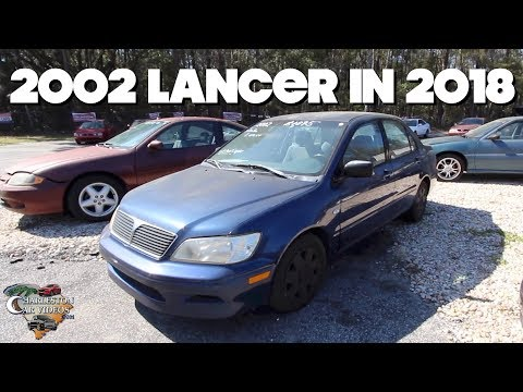 Here's a 2002 Mitsubishi Lancer in 2018 | Condition Review