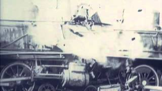 Steam Train Crash - Silent Film - CharlieDeanArchives / Archival Footage