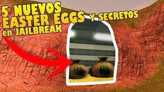 8 NEW EASTER EGGS AND SECRETS in JAILBREAK THAT YOU DO NOT KNOW!! Roblox