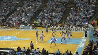 Late Night With Roy UNC Basketball Scrimmage Part I