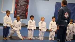 Team Tooke Little Champions Brazilian Jiu jitsu Belt Promotions