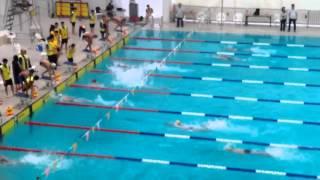D3  學界水運會 boys B grade 4×50freestyle relay