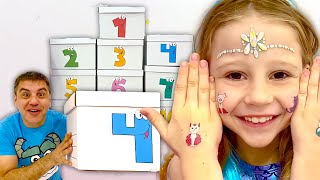 Nastya and dad are learning the Alphabet and Numbers | Educational Videos for Toddlers