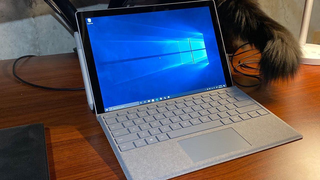Microsoft Surface Pro 7 Unboxing And Setup Youtube