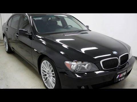 2008 BMW 7 Series 750Li Sport Package  YouTube