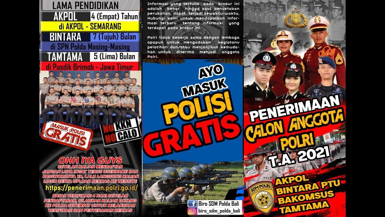 Sosialisasi PENERIMAAN POLRI 2021 || Polres Gianyar Bali