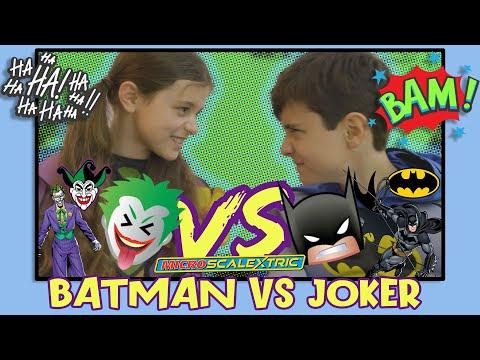 BATMAN vs JOKER – Micro Scalextric Set