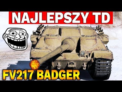 NAJLEPSZY TD X TIERU? - FV217 Badger - World of Tanks thumbnail