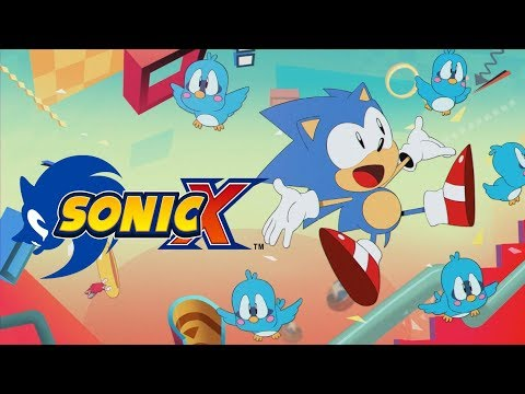 Sonic Mania Opening With Sonic X (USA)